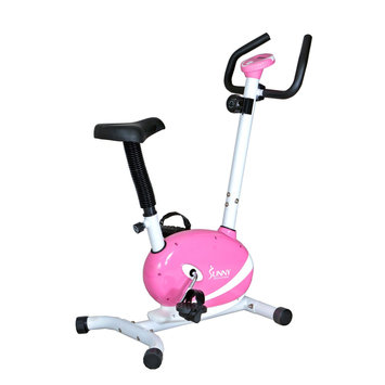 Sunny Distributor Inc Sunny Health & Fitness Pink Magnetic Upright Bike