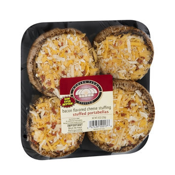 Modern Farms Stuffed Portabellas Bacon Flavored Cheese Stuffing - 4 CT