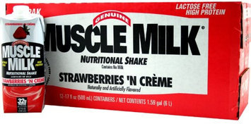 Cytosport Muscle Milk RTD Nutritional Shake Strawb - 12/17oz