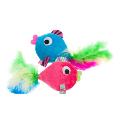 Toys R Us Fish Crinkle Cat Toy