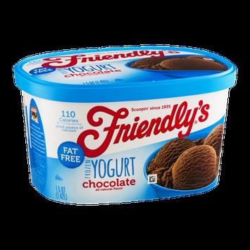 Friendly's Frozen Yogurt Chocolate