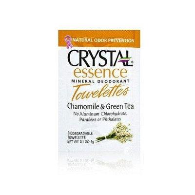Le Crystal Naturel Crystal Body Deodorant Towelettes 4g/0.1oz - Chamomile & Green Tea