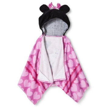 Disney Minnie Mouse Hooded Towel - Multicolor