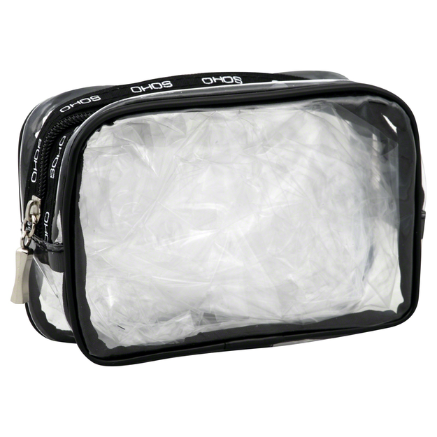 Markwins Travel Bag, Clear, 1 bag