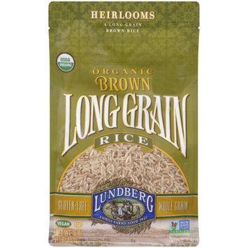 Lundberg Family Farms Long Grain Brown Rice Organic, 1 LB (Pack of 6)
