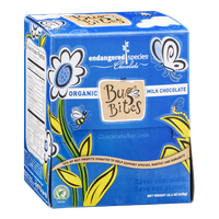 Endangered Species Bug Bites Organic Milk Chocolate