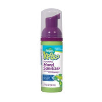 Pampers Kandoo Travel Size Foaming Hand Sanitizer, Unscented, 1.7 Fluid Ounce (Pack of 5)