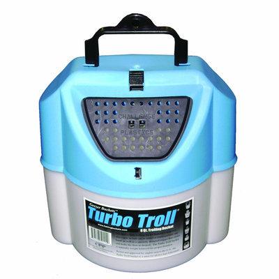 Challenge Plastics CPP 8 - qt. Turbo Troll Bait Bucket