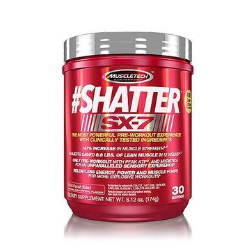 MuscleTech #Shatter SX-7 - Fruit Punch Blast