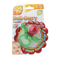 Raz Baby Raz-Berry Silicone Teether for 3+ Months