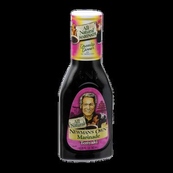 Newman's Own All Natural Teriyaki Marinade