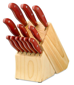 Hampton Forge Ltd. Hampton Forge 13 Piece Magna Red Cutlery Set