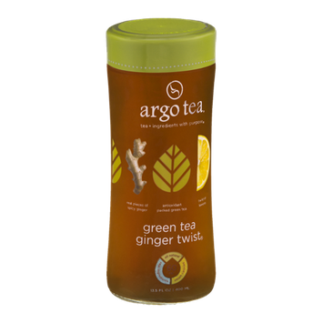 Argo Tea Green Tea Ginger Twist