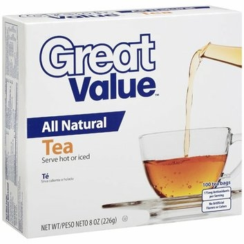 Great Value : All Natural Tea