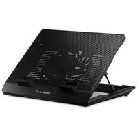Coolermaster CoolerMaster NotePal ErgoStand Lite - Adjustable Laptop Cooling Stand with Movable Fan and 5 Ergonomic Height