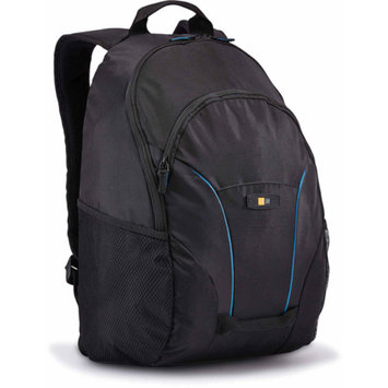 Case Logic BPCB-115 Cadence Laptop and Tablet Backpack with Lumbar Padding and Grab Handles, Black