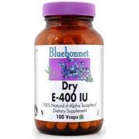 BlueBonnet Dry E-400 IU Vegetable Capsules, 100 Count