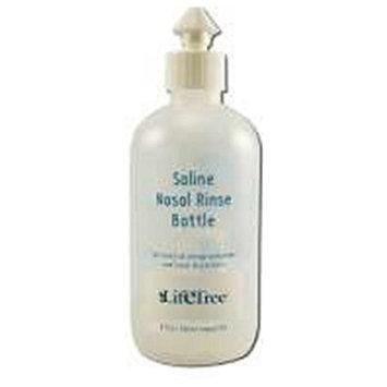 Saline Nasal Rinse Bottle Life Tree 8 oz Liquid