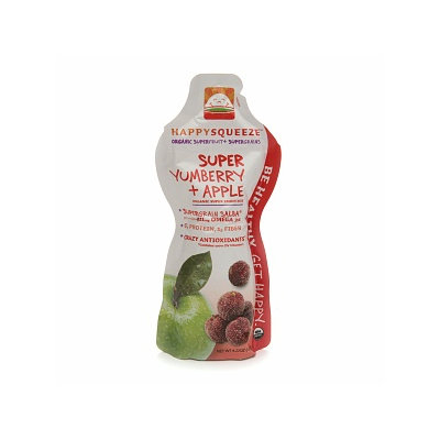 Happy Squeeze Super Yumberry + Apple Organic Smoothie