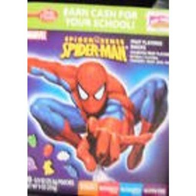 Betty Crocker Spider Man Fruit Flavored Snacks 8 oz (Pack of 10)