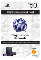 Sony Computer Entertainment $50 Playstation Network Card