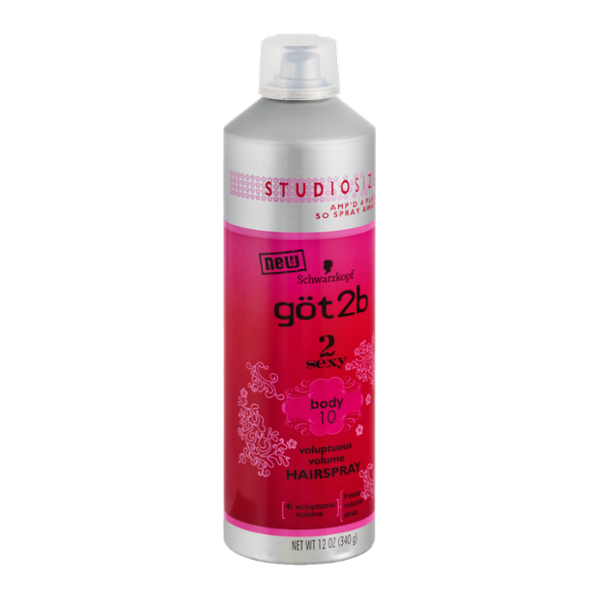 göt2b 2Sexy Voluptuous Volume Hairspray Body 10 Studio Size