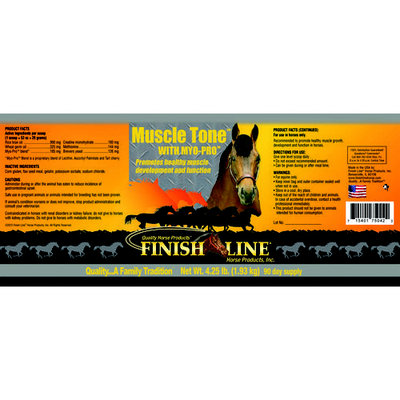 Finish Line 75042 Muscle Tone With Myo-Pro Equine Supplement