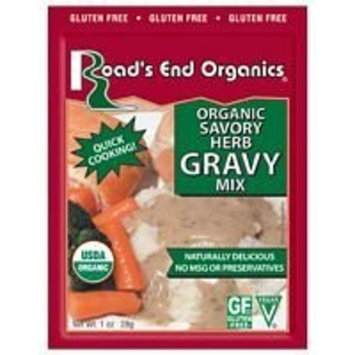 Road's End Organics Savory Herb Gravy Mix 1 oz. (Pack of 24)