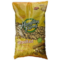 Hampton Farms No Salt Roasted In Shell Peanuts - 5lb Bag