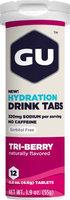 GU Hydration Drink Tabs - 8 Tube Pack Tri-Berry, 8tubes/box