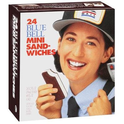 Blue Bell Vanilla Mini Sandwiches, 24ct