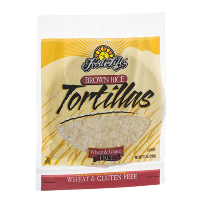 Food For Life Brown Rice Tortillas - 6 CT