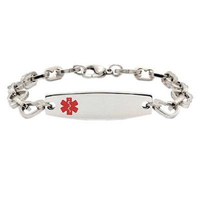 Hope Paige Heart Link Medical ID Bracelet