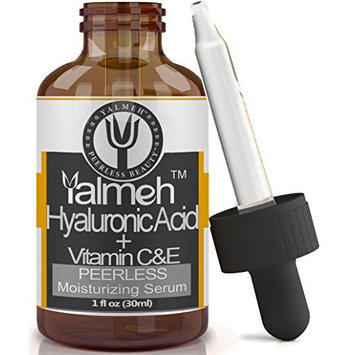 Yalmeh Peerless Beauty YALMEH Best Hyaluronic Acid Serum For Skin,100% Pure-Highest Quality,Facial Moisturizer with Vitamin C + E + MSM ,Anti Aging Serum, Anti Wrinkle, Instant Lift Solution.