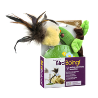 SmartyKat Bird Boing Springy Electronic Sound Toy
