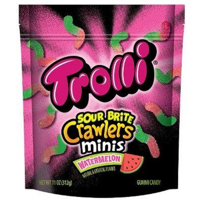 Trolli Sour Brite Crawlers Minis Watermelon