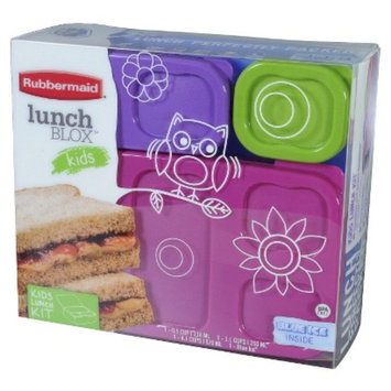 Rubbermaid Lunchbox Girls Flat Pack