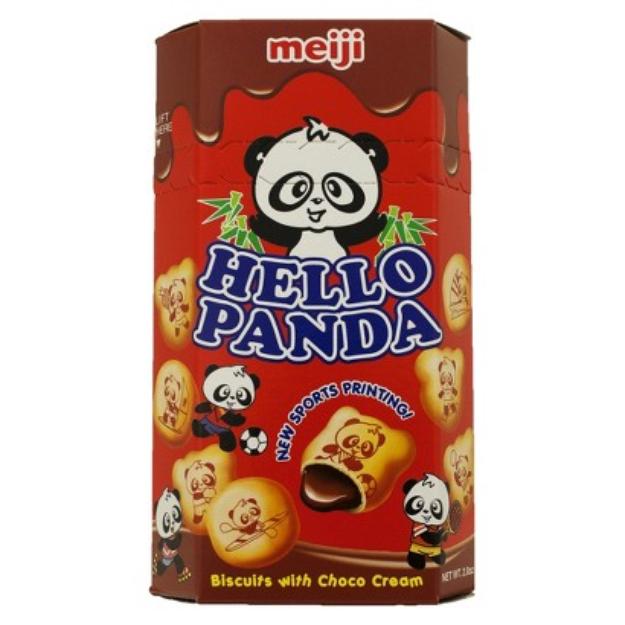Meiji Hello Panda Choco Cream Biscuits 2 oz