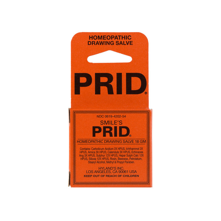 Hyland's PRID Homeopathic Drawing Salve
