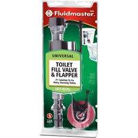 Fluidmaster Fill Valve and Flapper Repair Kit 400CRP14