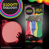 LED Balloons, Multi, Pack of 5