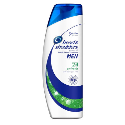Head & Shoulders Men Refresh 2-in-1 Anti-dandruff Shampoo + Conditioner