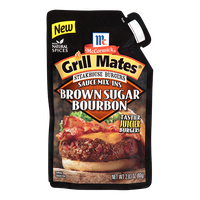 McCormick® Grill Mates® Brown Sugar Bourbon Steakhouse Burgers Sauce Mix-Ins