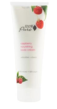 100% Pure Raspberry Nourishing Body Cream