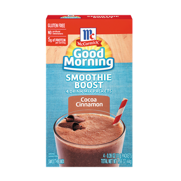McCormick® Good Morning Cocoa Cinnamon Smoothie Boost
