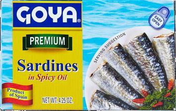 Goya® Sardines in Spicy Oil