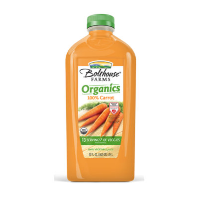 Bolthouse Farms Organics 100% Carrot Juice