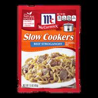 McCormick® Slow Cookers Beef Stroganoff Seasoning