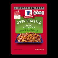 McCormick® Oven Roasted Sweet Potatoes Seasoning