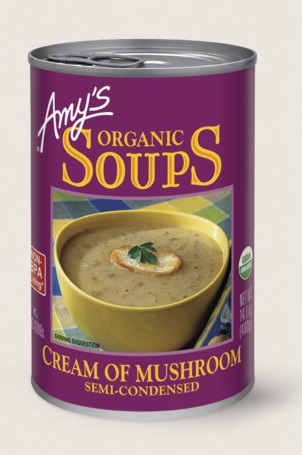 Amy's Kitchen Organic Cream Of Mushroom Soup